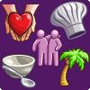 Занятия волонтеров и ответы на их карточки шанса в The Sims 4 Родители