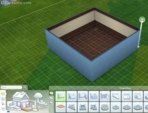 Построить блок комнаты