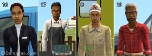 Социальный работник, бармен на дому, дезинсектор, мастер
