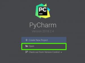 Запустите PyCharm