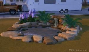 Водный сад, или каменный пруд из Симс 4 Путь к славе
