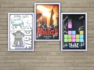 Плакаты в награду за 5 уровень карьеры в соцсетях