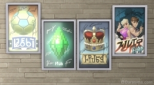 Плакаты в награду за достижение 8 уровня в карьере соцсетей