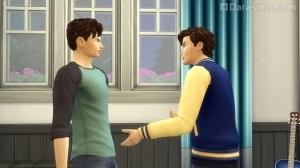 подростки спорят
