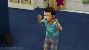 малыш в истерике