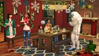 Обновления праздничного набора для The Sims 4