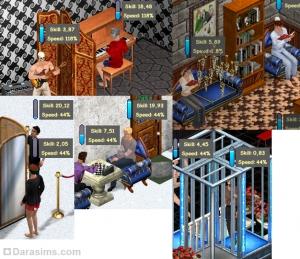 Игроки, обучающиеся различным навыкам