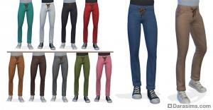 штаны на завязки для мужчин