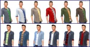 джинсовка с кофтой в The Sims 4: Backyard Stuff