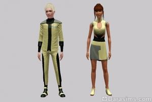 Рабочая одежда на 3-5 уровнях в карьере астронома