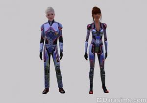 Рабочая одежда на 10 уровне карьеры исследователя космоса