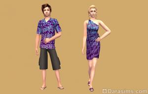 гавайский наряд