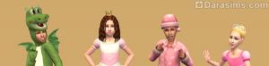 детские шапки для девочек в симс 2 для дома и семьи