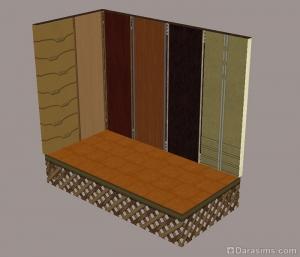 Настенные покрытия и плитка из каталога Симс 2 Гламурная жизнь