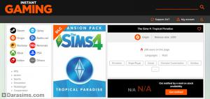 скриншот с сайта с предполагаемым новым дополнением