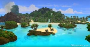 остров Сулани из «Симс 4 Жизнь на острове»