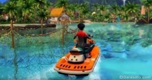 водные мотоциклы в «Симс 4 Жизнь на острове»