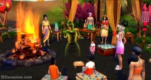дух острова в «Симс 4 Жизнь на острове»