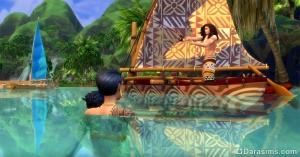 рыболовство в «Симс 4 Жизнь на острове»