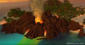 вулкан на Сулани