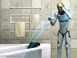 Пришелец восстанавливает сломанную ванну