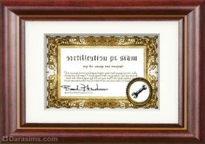 Сертификат навыка механики