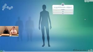 создание сима по вопросам в sims 4