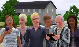 Семья Инкбирд из Симс 3 Барнакл Бэй