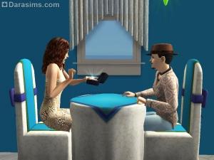 Спонтанная помолвка за столом