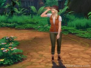 поиск кучек в Симс 4 приключения в джунглях