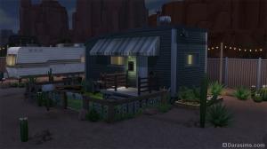 Дом в трейлерном парке в Симс 4 Стрейнджервиль