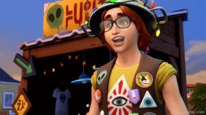 Продавец редкостей в The Sims 4 StrangerVille