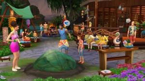 Вечеринка в The Sims 4 Island Living