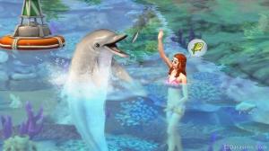 Дельфин в Симс 4 Жизнь на острове