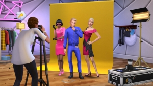 Фотосессия в The Sims 4 Moschino