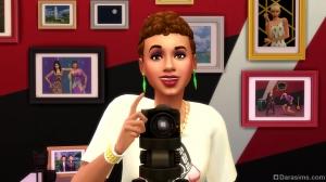Модный фотограф в The Sims 4 Moschino