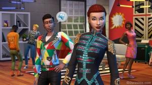 Позирование в The Sims 4 Moschino