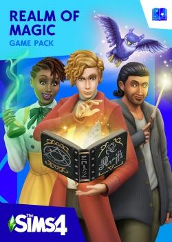 Обложка игрового набора Симс 4 Мир магии