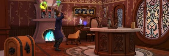 Комната магии в The Sims 4 Realm of Magic