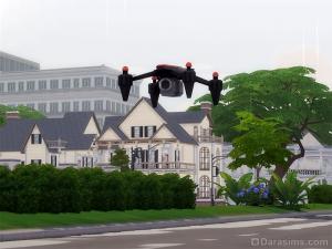 Сделать видео о районе дроном