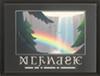 Плакат «Райский водопад»