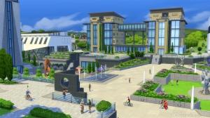 Институт Фоксбери в дополнении «The Sims 4 В университете»