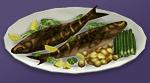 Ужин с рыбой