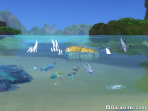 ловушка для рыбы в Симс 4 Жизнь на острове
