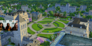 учебные корпуса в The Sims 4 Discover University