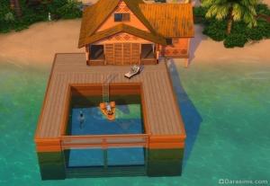 Sims 4: Строительство прозрачного бассейна/ Building Transparent Pools