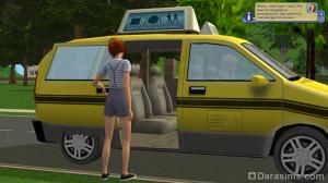 Подросток уезжает в университет на такси