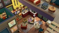Кухня-гостиная в каталоге «Симс 4 Компактная жизнь»