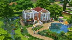 Маленький дом в каталоге «Симс 4 Компактная жизнь»