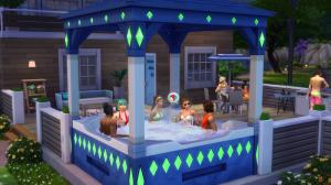 Подарочное джакузи в честь 20-летия The Sims